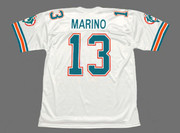 DAN MARINO Miami Dolphins 1989 Throwback NFL Football Jersey - BACK