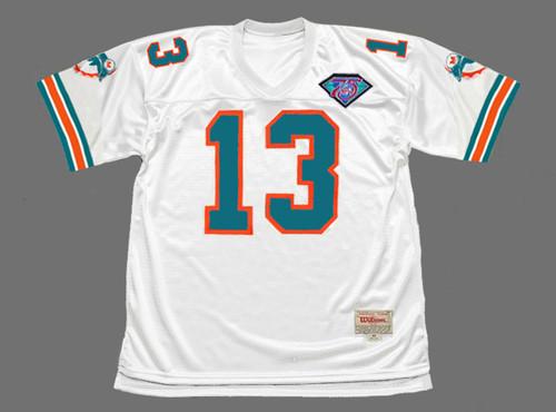 DAN MARINO Miami Dolphins 1994 Throwback NFL Football Jersey - FRONT