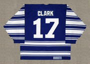 WENDEL CLARK Toronto Maple Leafs 1996 CCM Vintage Throwback NHL Jersey - BACK