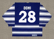 TIE DOMI Toronto Maple Leafs 1996 CCM Vintage Throwback NHL Jersey - BACK