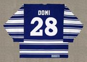 TIE DOMI Toronto Maple Leafs 1996 CCM Vintage Throwback NHL Jersey - BACK