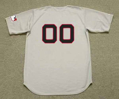 BOSTON RED SOX 1969 Away Majestic Throwback Personalized MLB Jerseys - BACK