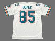 MARK DUPER Miami Dolphins 1989 Throwback NFL Football Jersey - BACK