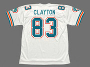 MARK CLAYTON Miami Dolphins 1989 Throwback NFL Football Jersey - BACK