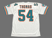 ZACH THOMAS Miami Dolphins 1996 Throwback NFL Football Jersey - BACK