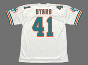 KEITH BYARS Miami Dolphins 1994 Throwback NFL Football Jersey - BACK