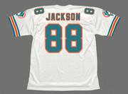 KEITH JACKSON Miami Dolphins 1994 Throwback NFL Football Jersey - BACK