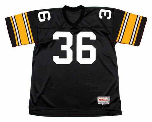 JEROME BETTIS Pittsburgh Steelers 1996 Throwback Home NFL Football Jersey - BACK