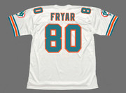 IRVING FRYAR Miami Dolphins 1994 Throwback NFL Football Jersey - BACK