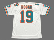 BERNIE KOSAR Miami Dolphins 1994 Throwback NFL Football Jersey - BACK