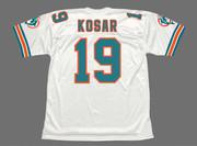 BERNIE KOSAR Miami Dolphins 1994 Throwback NFL Football Jersey - BACK