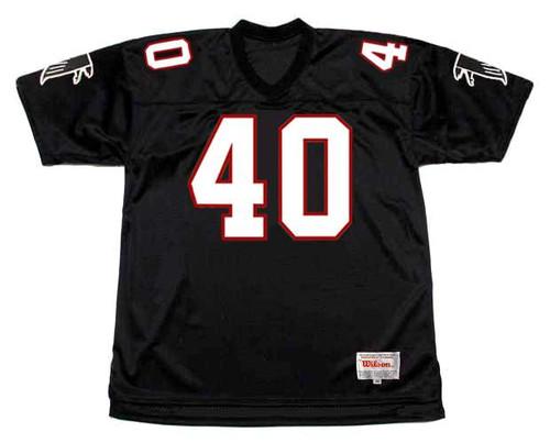 BRIAN JORDAN Atlanta Falcons 1991 Home Throwback NFL Football Jersey - FRONT