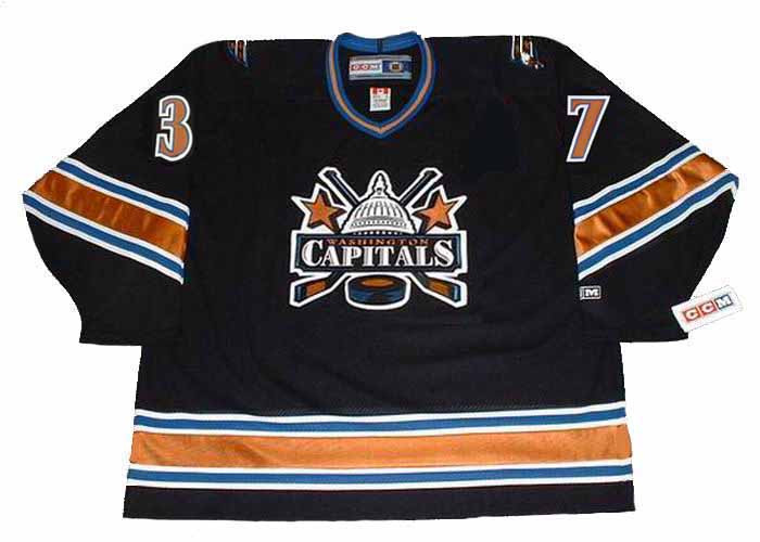 19f62f54 ... OLAF KOLZIG Washington Capitals 1998 CCM Vintage Away NHL Hockey  Jersey. Image 1. Image 2. Image 3. Image 4. See 3 more pictures