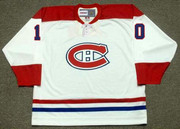 GUY LAFLEUR Montreal Canadiens 1973 Home CCM Throwback NHL Hockey Jersey - FRONT