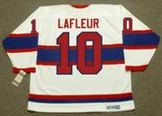 "GUY LAFLEUR Montreal Canadiens 2003 CCM ""Heritage Classic"" Alumni Hockey Jersey - BACK"