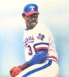DAVE STEWART Texas Rangers 1984 Home Majestic Throwback Baseball Jersey - ACTION