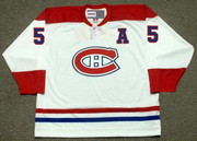 BERNARD GEOFFRION Montreal Canadiens 1959 Away CCM NHL Throwback Hockey Jersey - BACK