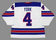 CAM YORK 2020 USA Nike Throwback Hockey Jersey