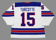 ALEX TURCOTTE 2020 USA Nike Throwback Hockey Jersey - BACK
