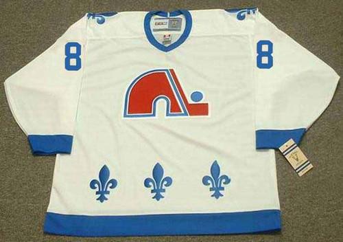 JOE SAKIC Quebec Nordiques 1988 Home CCM Throwback NHL Hockey Jersey - front
