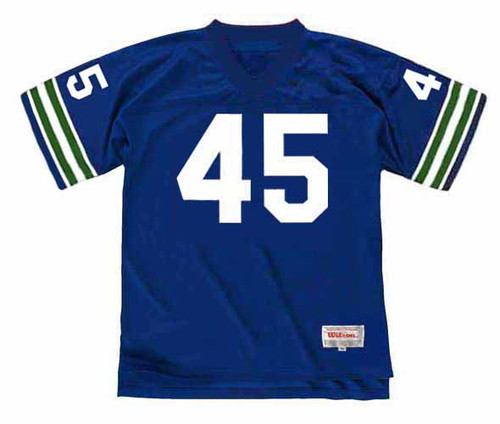 KENNY EASLEY Seattle Seahawks 1981 Throwback NFL Football Jersey - FRONT