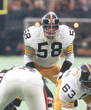 JACK LAMBERT Pittsburgh Steelers 1975 Throwback Away NFL Football Jersey - ACTION