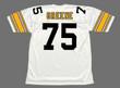 JOE GREENE Pittsburgh Steelers 1975 Away NFL Football Throwback Jersey - BACK