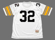 FRANCO HARRIS Pittsburgh Steelers 1975 Throwback Away NFL Football Jersey - FRONT