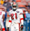 DEION SANDERS San Francisco 49ers 1994 Throwback Away NFL Football Jersey - ACTION