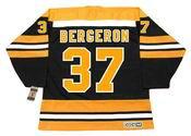 PATRICE BERGERON Boston Bruins 2006 CCM Vintage Throwback NHL Hockey Jersey