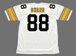 LYNN SWANN Pittsburgh Steelers 1975 Throwback Away NFL Football Jersey - BACK