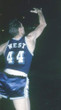 JERRY WEST Los Angeles Lakers 1960's Throwback NBA Basketball Jersey - ACTION