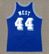 JERRY WEST Los Angeles Lakers 1960's Throwback NBA Basketball Jersey - BACK