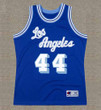 JERRY WEST Los Angeles Lakers 1960's Throwback NBA Basketball Jersey - FRONT