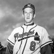 BOB UECKER Milwaukee Braves 1962 Home Majestic Throwback Baseball Jersey - ACTION