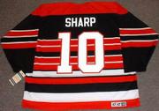 PATRICK SHARP Chicago Blackhawks 1940's CCM Throwback Away Hockey Jersey