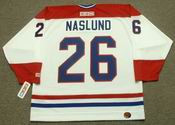 MATS NASLUND Montreal Canadiens 1986 CCM Throwback Home NHL Jersey