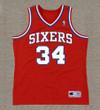 CHARLES BARKLEY Philadelphia 76ers 1988 Throwback NBA Basketball Jersey - FRONT