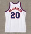 MICHEAL RAY RICHARDSON New Jersey Nets 1983 Throwback NBA Basketball Jersey - BACK
