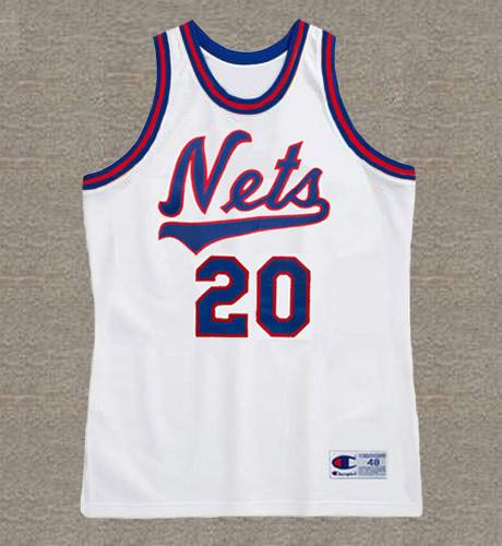 MICHEAL RAY RICHARDSON New Jersey Nets 1983 Throwback NBA Basketball Jersey - FRONT