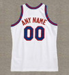 NEW JERSEY NETS 1980's Throwback NBA Customized Jersey - BACK