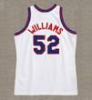 BUCK WILLIAMS New Jersey Nets 1983 Throwback NBA Basketball Jersey - BACK