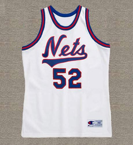 BUCK WILLIAMS New Jersey Nets 1983 Throwback NBA Basketball Jersey - FRONT