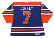 PAUL COFFEY Edmonton Oilers 1987 CCM Vintage Throwback Away NHL Hockey Jersey