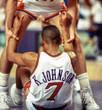 KEVIN JOHNSON Phoenix Suns 1992 Throwback NBA Basketball Jersey - ACTION