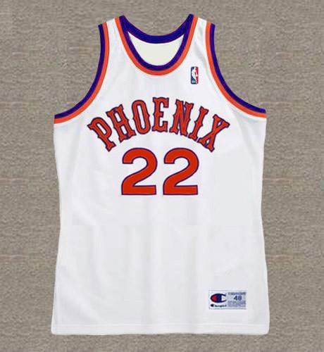 LARRY NANCE Phoenix Suns 1986 Throwback NBA Basketball Jersey - FRONT