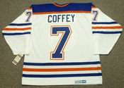 PAUL COFFEY Edmonton Oilers 1987 CCM Vintage Throwback Home NHL Jersey