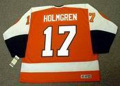 PAUL HOLMGREN Philadelphia Flyers 1980 CCM Vintage Throwback NHL Hockey Jersey