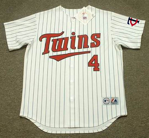 PAUL MOLITOR Minnesota Twins 1998 Majestic Throwback Home Baseball Jersey - FRONT