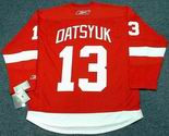 PAVEL DATSYUK Detroit Red Wings 2011 REEBOK Throwback Home NHL Jersey